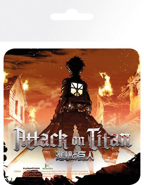 Attack On Titan (Shingeki no kyojin) - Keyart alátét