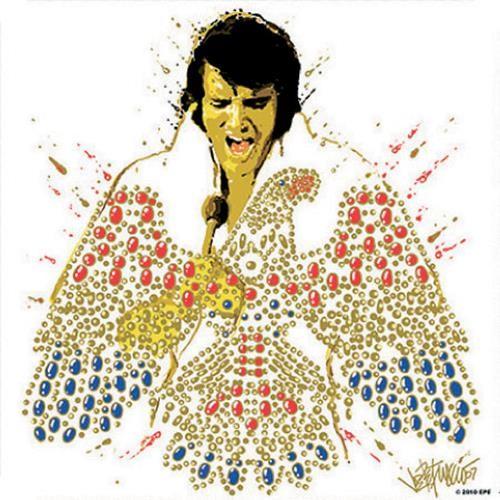 Elvis Presley – American Eagle alátét