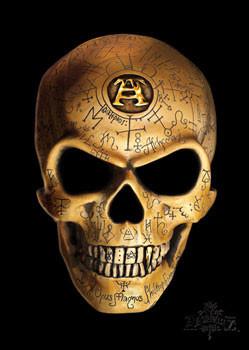 Alchemy - omega skull - плакат (poster)