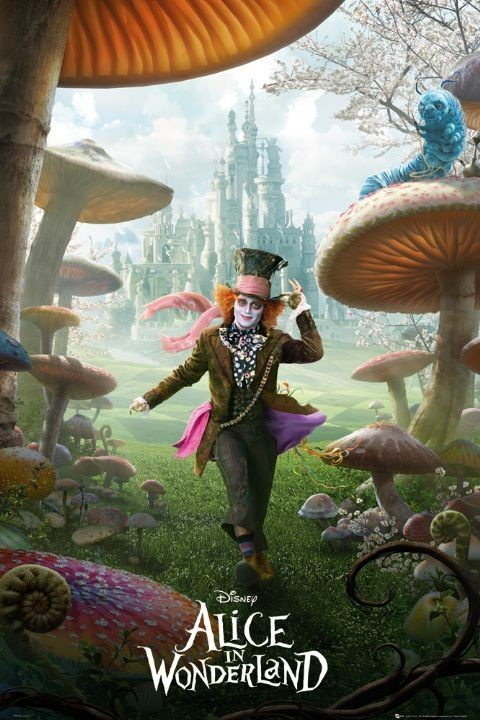 Alice in wonderland - teaser - плакат (poster)
