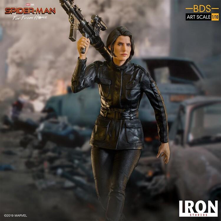 Figurine Spiderman: Far From Home - Maria Hill