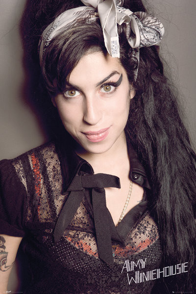 Amy Winehouse - Portrait - плакат (poster)