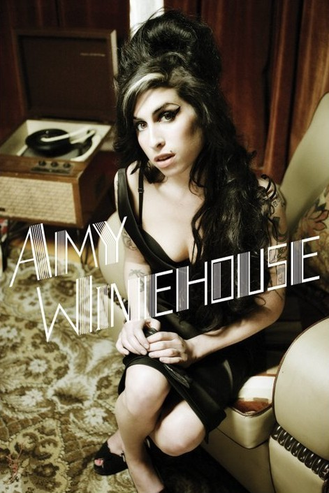 Amy Winehouse - stereo - плакат (poster)