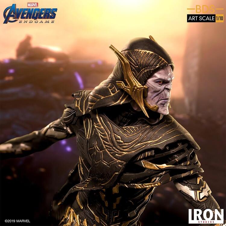 Figur Avengers: Endgame - Black Order Corvus Glaive