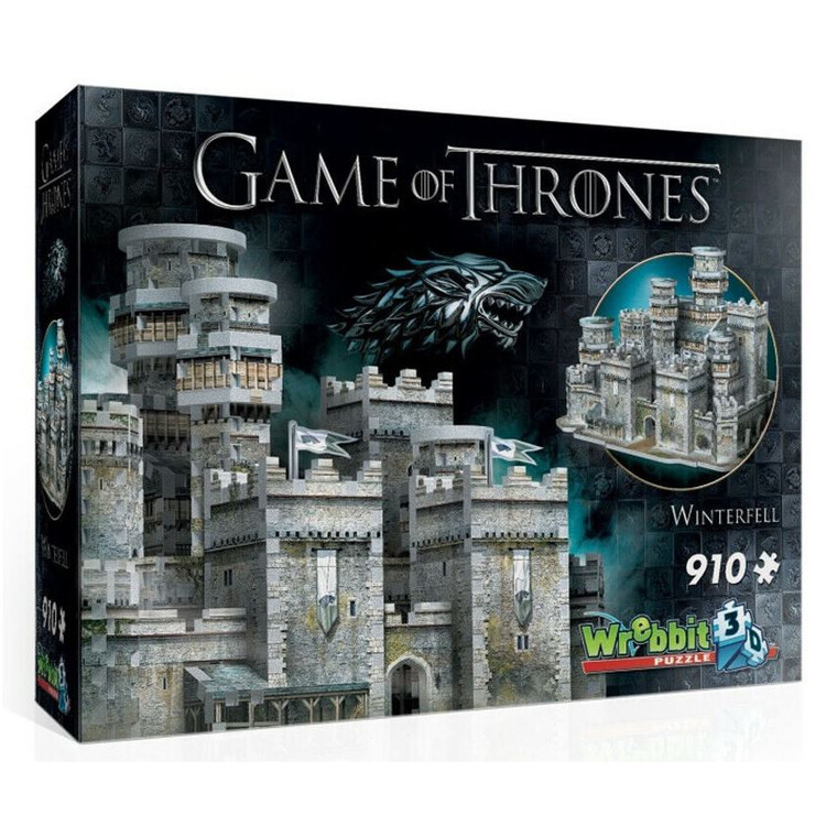 Puzzle Game of Thrones - Winterfell 3D