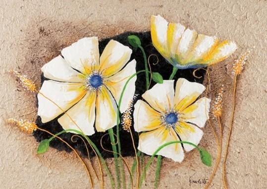 Anemone in frame Festmény reprodukció