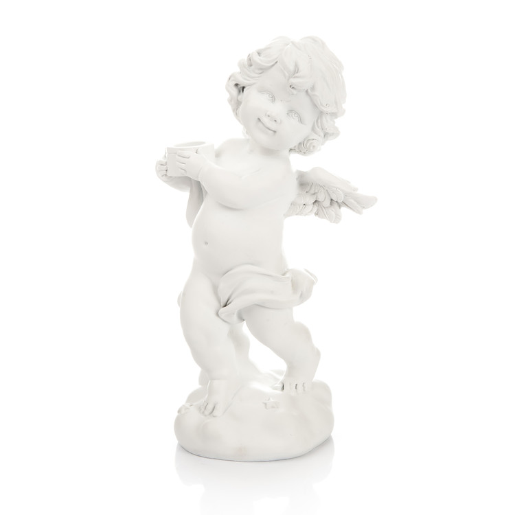 Angel with Pail - Left, 19 cm Home Decor