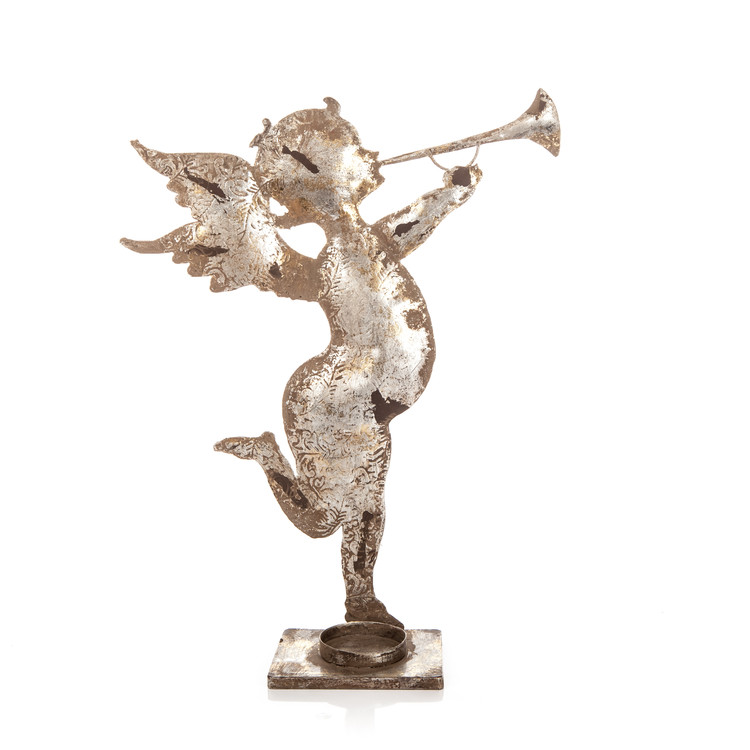 Angel with Trumpet Home Decor