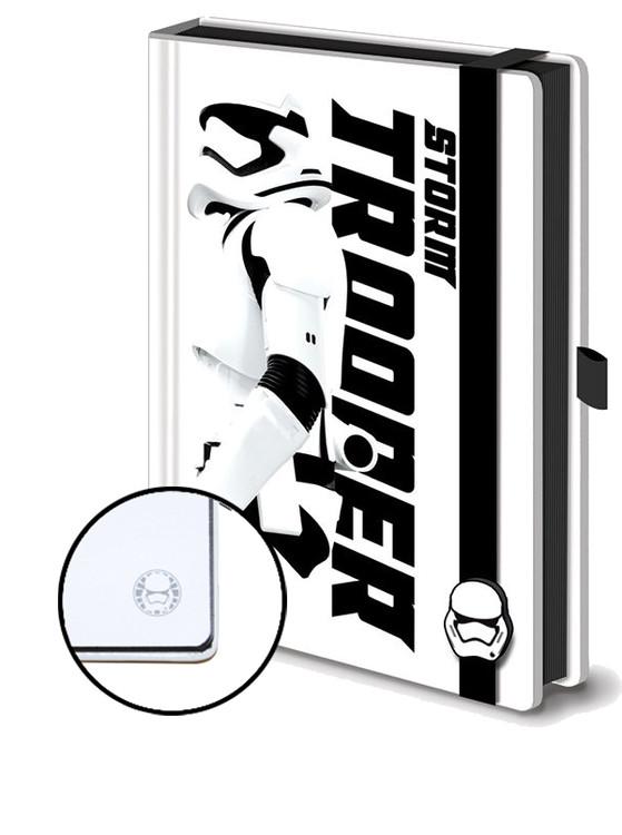 Anteckningsbok Star Wars Episod VII: The Force Awakens - Stormtrooper Premium A5