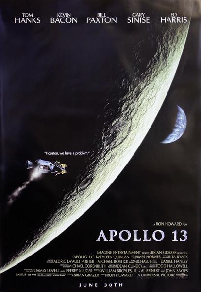 APOLLO 13  плакат