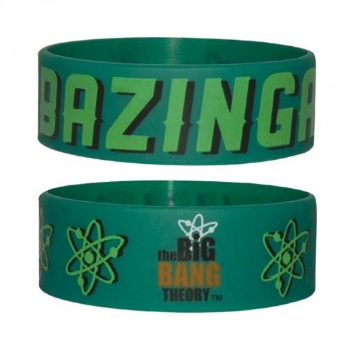BIG BANG THEORY - bazinga  Armband silikon