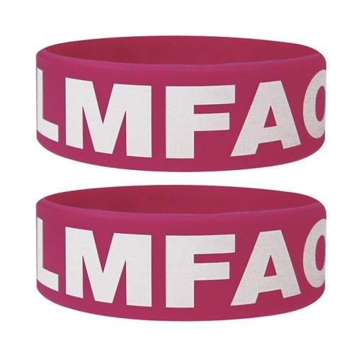 LMFAO Armband silikon