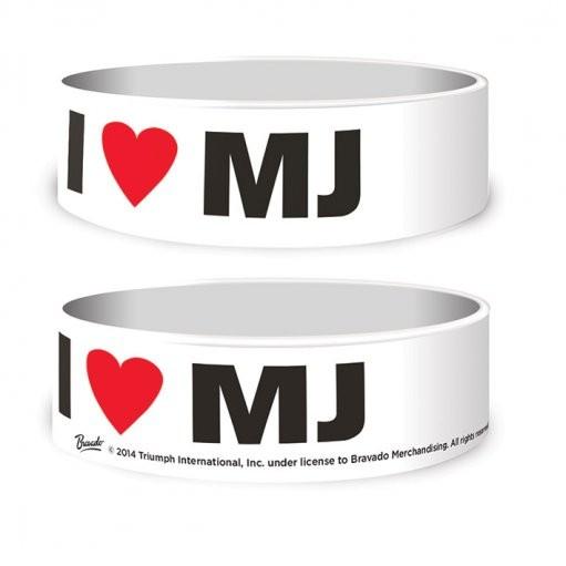Michael Jackson - I Love MJ Armbanden