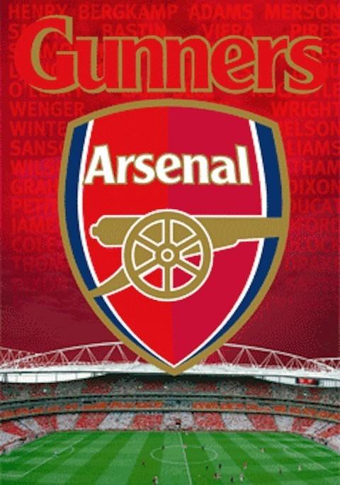 ARSENAL - crest - плакат (poster)