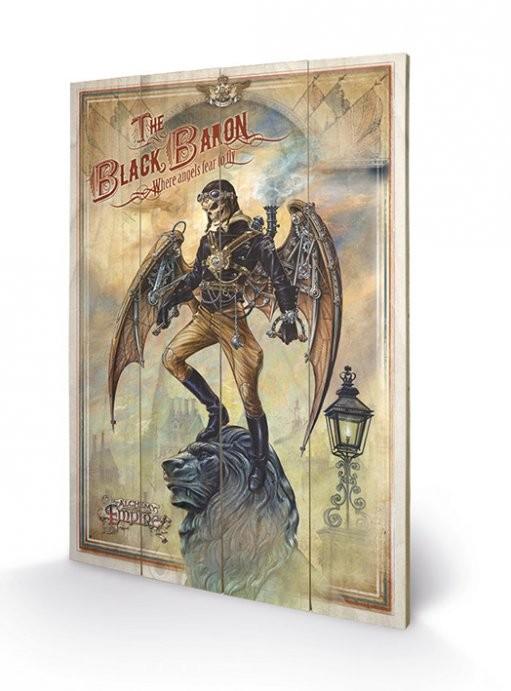 Cuadro de madera  ALCHEMY - the black baron