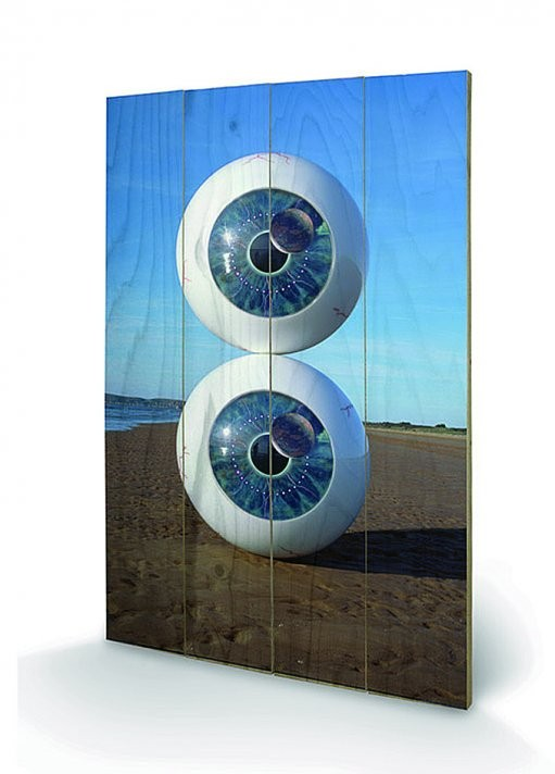 Cuadro de madera  Pink Floyd - Pulse