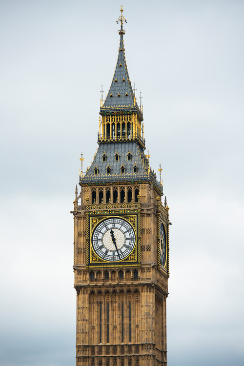 Umelecká fotografia Big Ben Clock Tower