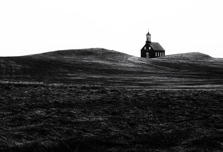 Photographie d'art Black chapel
