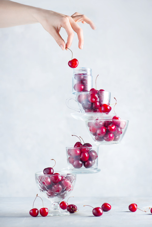 Kunstfotografie Cherry on top