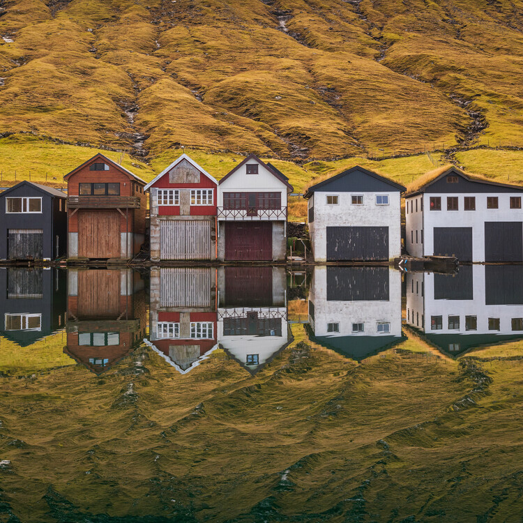 Photographie d'art Fishing Huts