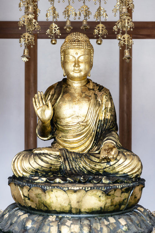 Kunstfotografi Golden Buddha