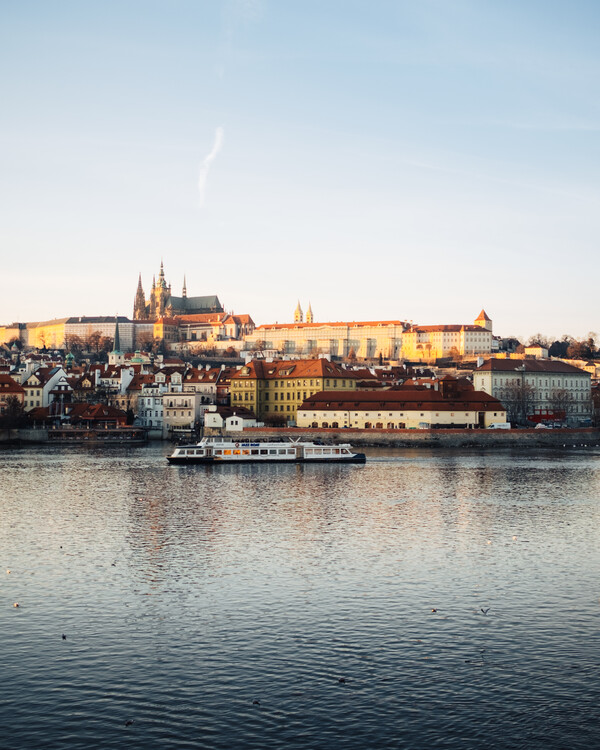 Arte fotográfico Golden Prague