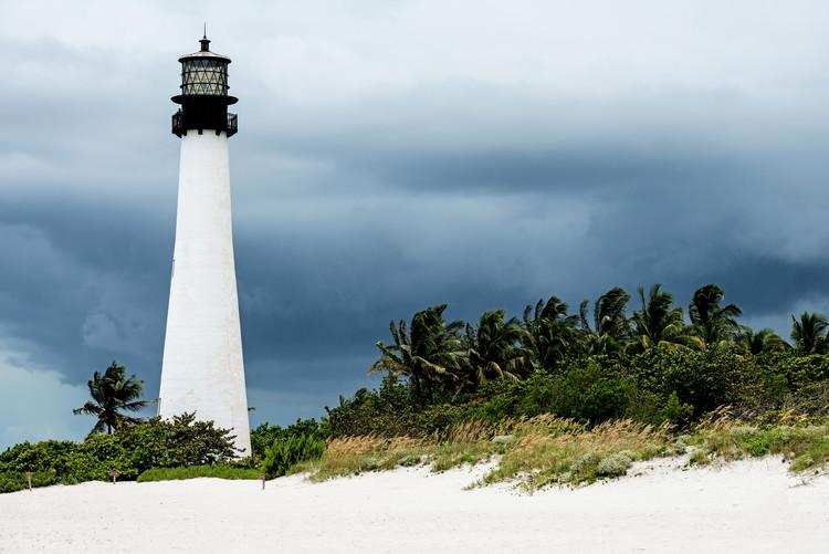 Arte fotográfico Key Biscayne Light House