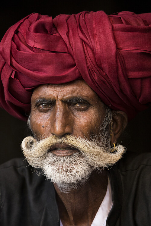 Arte fotográfico Man from Rajasthan