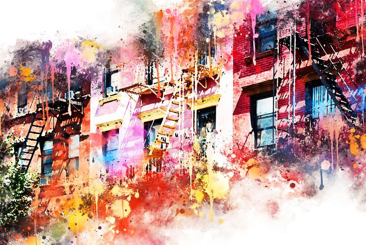 Kunstfotografi New York Facades
