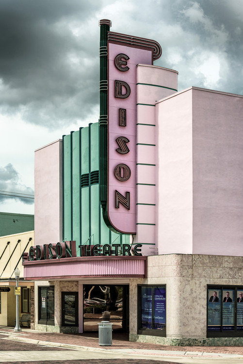 Arte fotográfico Old American Theater