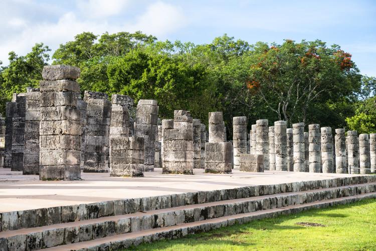 Arte fotográfico One Thousand Mayan Columns
