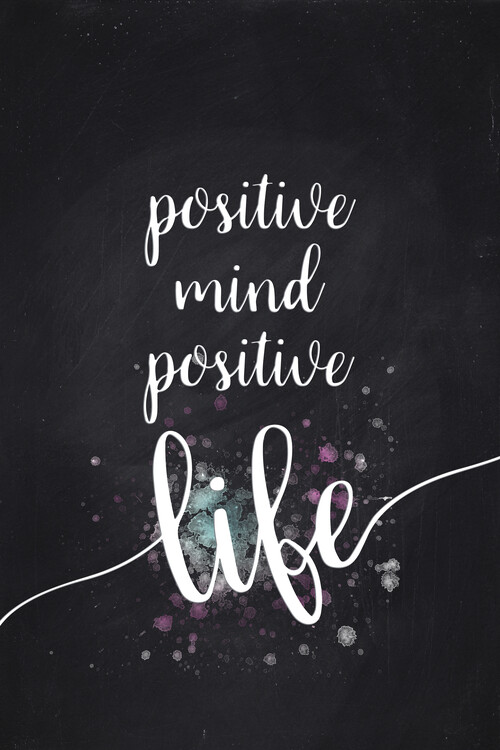Kunstfotografie Positive Mind Positive Life