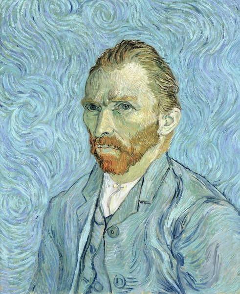 Reproducción de arte Self portrait, 1889