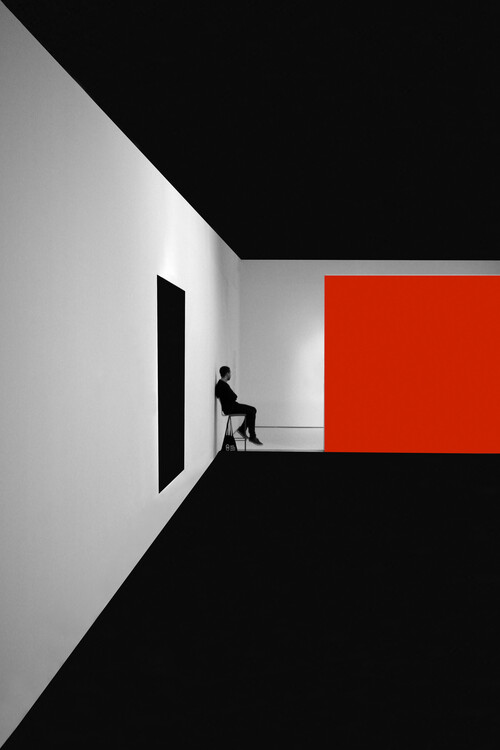 Arte fotográfico Simple Red