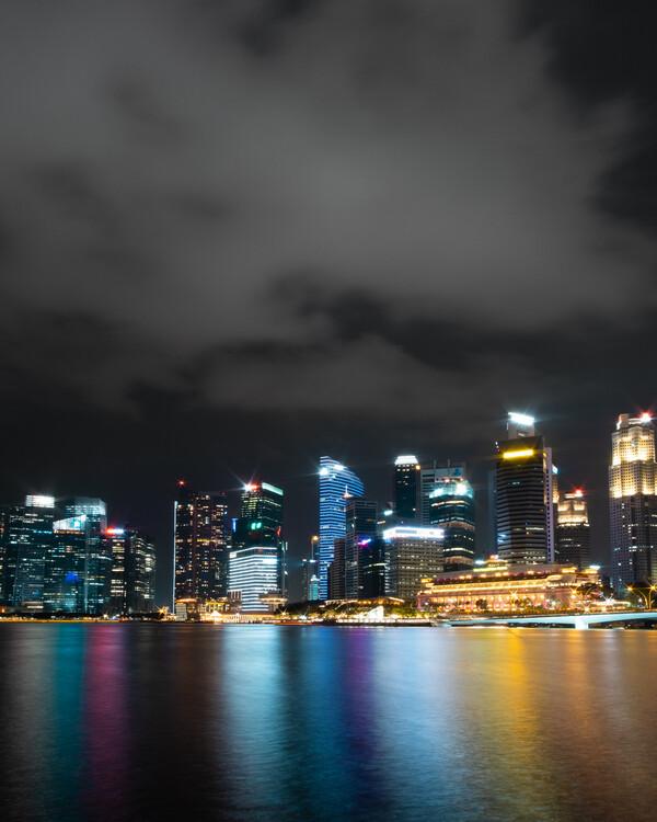 Umelecká fotografia Singapore Glow