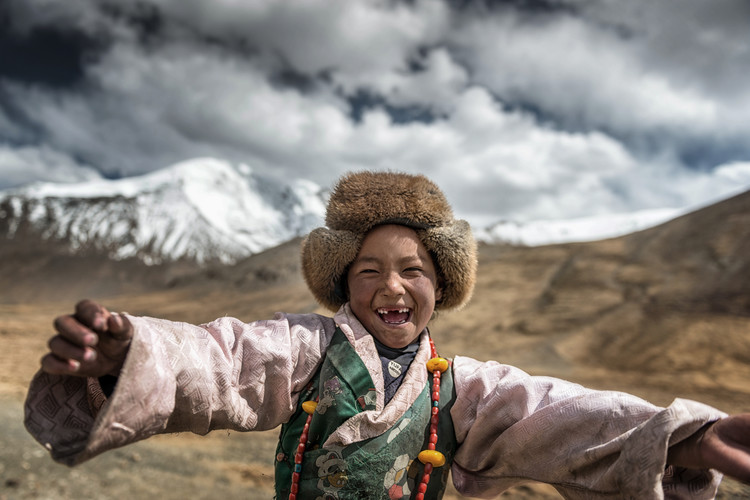 Photographie d'art Smile Tibet