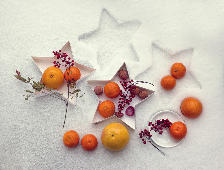 Photographie d'art Snow still life