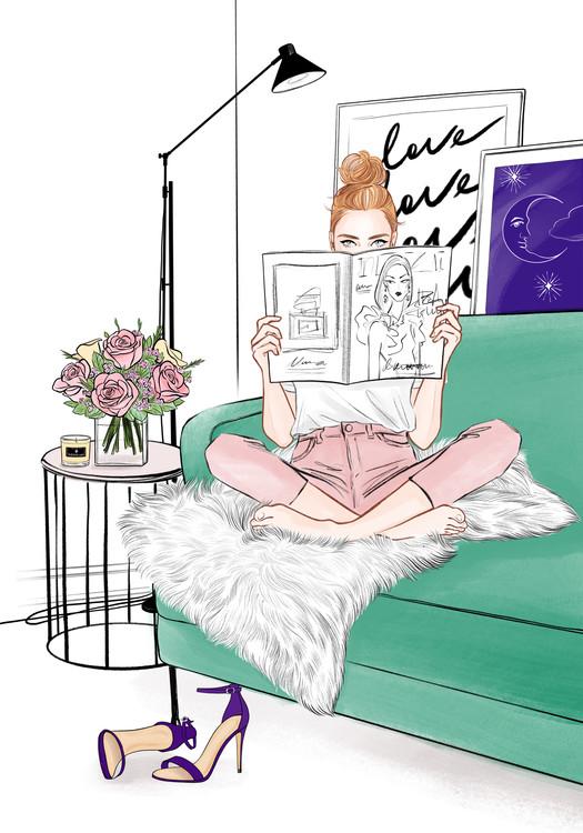 Illustration Style of life