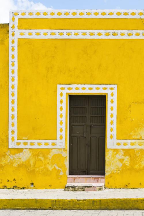 Arte fotográfico The Yellow City II - Izamal