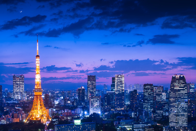 Photographie d'art Tokyo night view