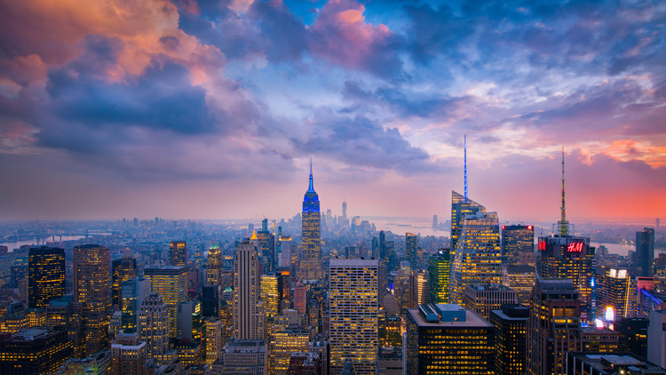 Kunstfotografie Top of The Rock
