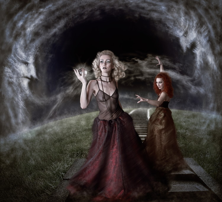 Kunst fotografie Witches