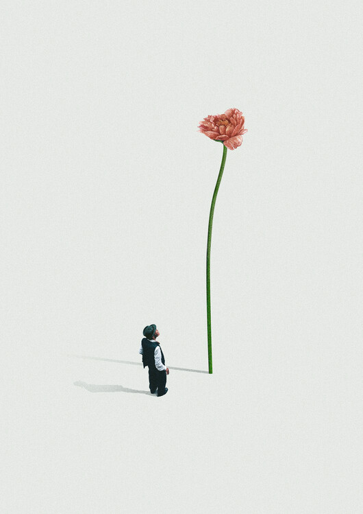 Ilustracja A quiet friend