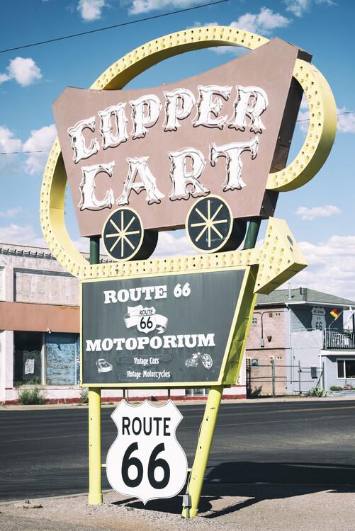 Kunstfotografie American West - Cupper Cart 66