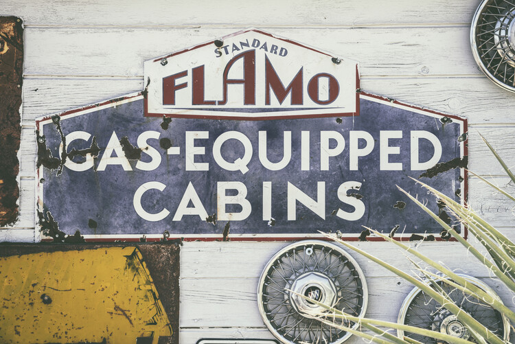 Photographie artistique American West - Gas Equipped