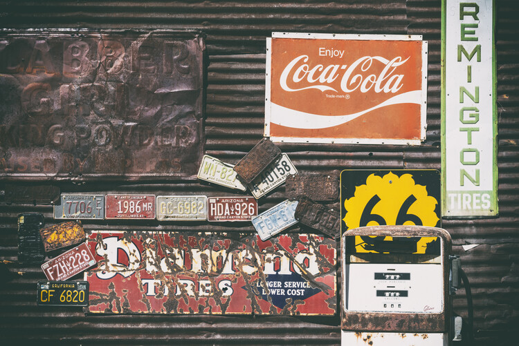 Artă fotografică American West - Old 66