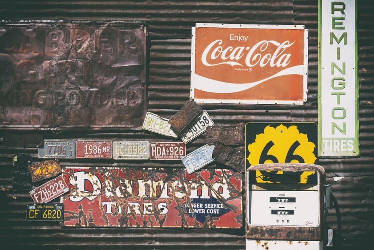 Kunstfotografie American West - Old 66