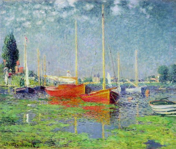 Reproducción de arte  Argenteuil, c.1872-5