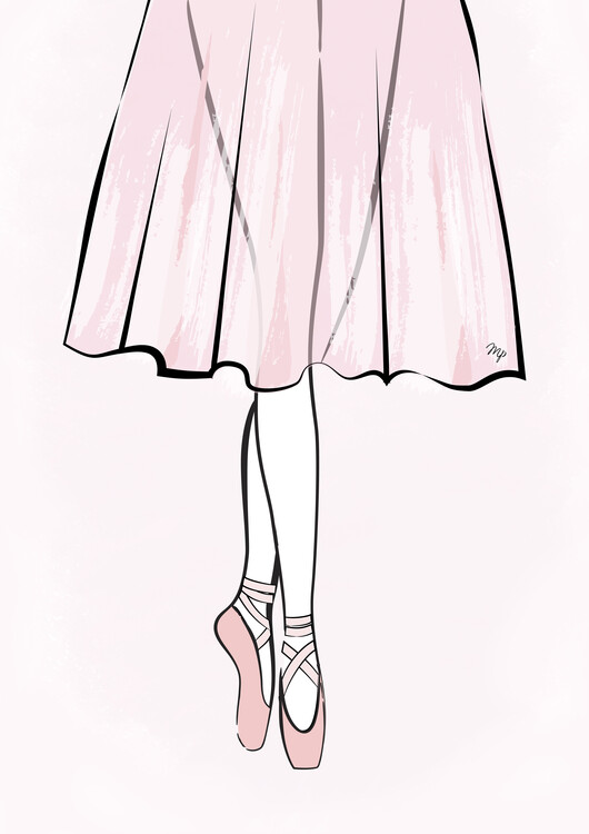 Ilustrace Ballerina