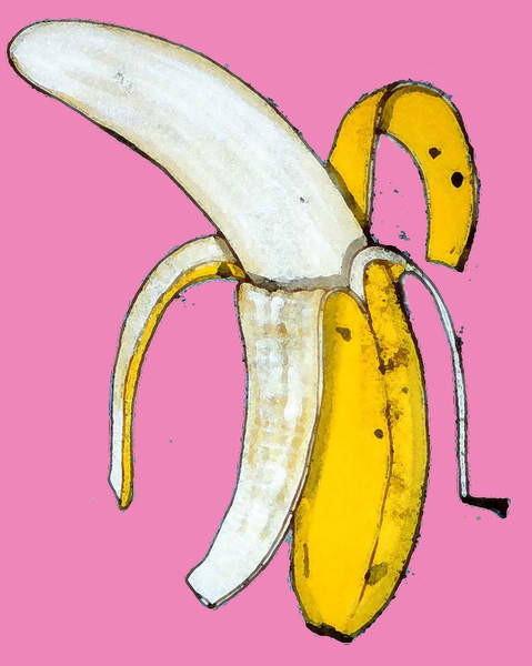 Obrazová reprodukce Banana, 2014